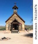 Old West Church In Arizona