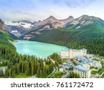 Turquoise Louise Lake In...