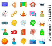 online simulator icons set.... | Shutterstock .eps vector #761225656
