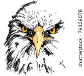 eagle   Shutterstock .eps vector #76126078
