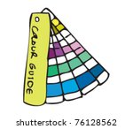 drawing of a colour swatch