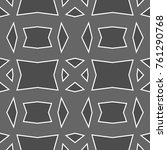 vector pattern design. modern... | Shutterstock .eps vector #761290768