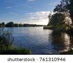landscape nature lake  | Shutterstock . vector #761310946