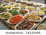 healthy and nutritious oriental ... | Shutterstock . vector #76131469