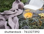 picnic in the nature | Shutterstock . vector #761327392