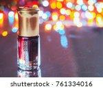 fragrant oil. scented oil.... | Shutterstock . vector #761334016