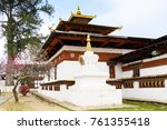 kyichu lhakhang  an important... | Shutterstock . vector #761355418