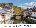 saint jean pied de port  basque ...   Shutterstock . vector #761358826