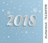new year background  new year... | Shutterstock .eps vector #761369398