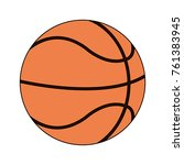 sport basketball ball   Shutterstock .eps vector #761383945