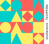 seamless abstract vector...   Shutterstock .eps vector #761399386