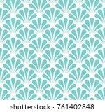vintage art deco seamless... | Shutterstock .eps vector #761402848