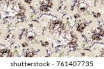 Stock photo flowers pattern for textile wallpaper pattern fills covers surface print gift wrap 761407735