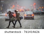 new york city   january 7  2017 ... | Shutterstock . vector #761414626