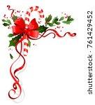 christmas festive ornament for... | Shutterstock .eps vector #761429452