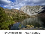 Ellery Lake  Set In The Upper...
