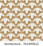 japanese pattern seamless... | Shutterstock .eps vector #761440612