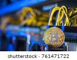 cryptocurrency equipment mining   Shutterstock . vector #761471722