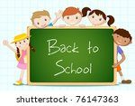 illustration of student... | Shutterstock .eps vector #76147363