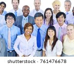 group of diverse business people | Shutterstock . vector #761476678
