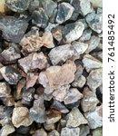 stone texture background | Shutterstock . vector #761485492