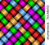 Seamless Pattern Of Interwoven...