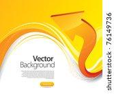 arrow business background | Shutterstock .eps vector #76149736