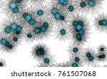 light colored vector template... | Shutterstock .eps vector #761507068