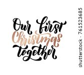 Our First Christmas Together....