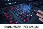 telecine controller machine and ... | Shutterstock . vector #761526232