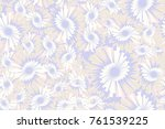 seamless texture of five colors.... | Shutterstock .eps vector #761539225