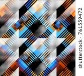seamless background. geometric... | Shutterstock .eps vector #761559472