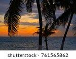 isla mujeres island caribbean... | Shutterstock . vector #761565862