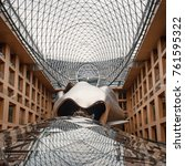 berlin  germany   circa july ... | Shutterstock . vector #761595322