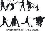 illustration of athlete... | Shutterstock .eps vector #7616026