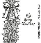 merry christmas. vector...   Shutterstock .eps vector #761631562