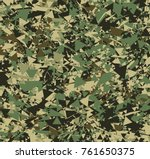 abstract vector color military... | Shutterstock .eps vector #761650375