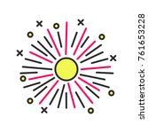firework color icon.... | Shutterstock . vector #761653228