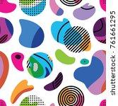 bright seamless pattern design...   Shutterstock .eps vector #761661295