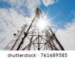 telecommunication towers...