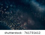 glitter lights abstract... | Shutterstock . vector #761731612