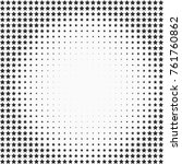 halftone effect with stars on... | Shutterstock .eps vector #761760862
