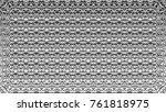 black and white relief convex... | Shutterstock . vector #761818975