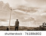 male engineer is inspecting a...