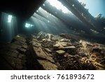 Cargo Wreck Of A Cargo Ship ...