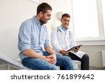 medicine  healthcare and people ... | Shutterstock . vector #761899642