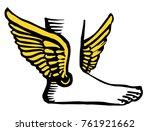 sign  logo  icon. hermes ... | Shutterstock .eps vector #761921662