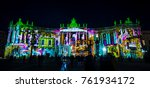 berlin   october 08  2017 ... | Shutterstock . vector #761934172