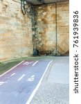 Small photo of Abrupt end of cycling path in Logrono, Spain