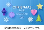 christmas sale discount up to...   Shutterstock .eps vector #761940796